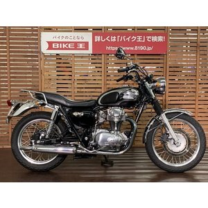 【中古バイク】 W650 走行距離少なめ リアキャリア付き 【マル得】