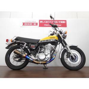 【中古バイク】 SR400−4 60周年アニバーサリー JMCA対応OVERチタンマフラー