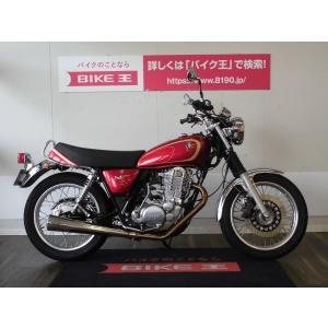 【中古バイク】 SR400-4  キック始動も楽ですよ! OVERマフラー装備!