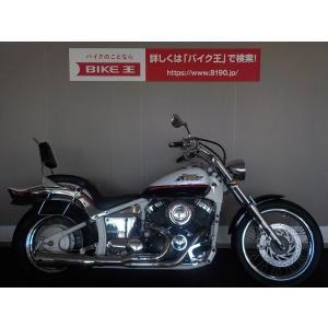 【中古バイク】 ドラッグスター400 エンジンガード スーパートラップマフラー