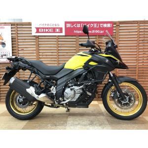【中古バイク】 Vストローム650XT ABS ワンオーナー サイドガード ETC2.0装備