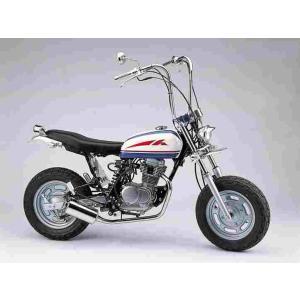 ファットボブマフラー エイプ100 (-08 HC07-1599999迄) ポリッシュ ハリケーン HE1033S bikeroad