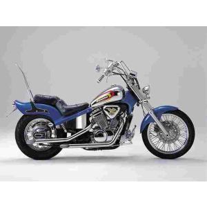 スラッシュカットTYPEI スティード400 ポリッシュ ハリケーン HE1101S bikeroad