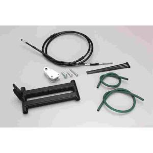 ロングホイールベース kit Dio-SR (AF25) Dio (AF18-1485762-) ブラック ハリケーン HF1033 bikeroad