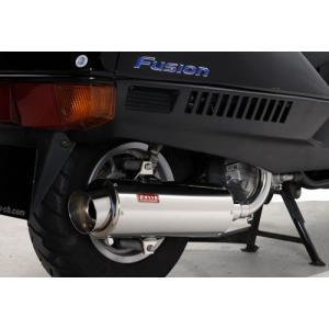 フュージョン MF02 ROSSO ロッソ マフラー ベルタ 120φ bikeroad