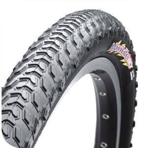 シルクワームテクノロジー(タイヤのケーシングにMAXXIS独自の特別素材を組み合わせる技術)で耐パン...