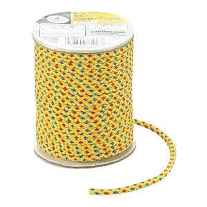 テント、タープ設営の必需品 カラーテントロープφ3.5mm×20m イエロー|bikkuri-price