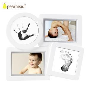 pearhead ペアヘッド ベビープリント・コラージュフレーム/ホワイト