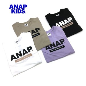 ANAP KIDS アナップキッズ 子供服 21春夏 抗菌防臭アドレスロゴロンT(ib)|billy-k