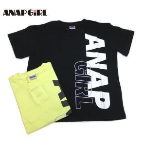 ANAP GiRL アナップガール 子供服 21春夏 ビッグタテロゴTシャツ(ib)|billy-k