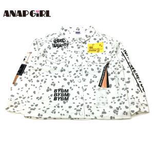 ANAP GiRL アナップガール 子供服 21春夏 2パターンビッグデニムジャケット(ib)|billy-k
