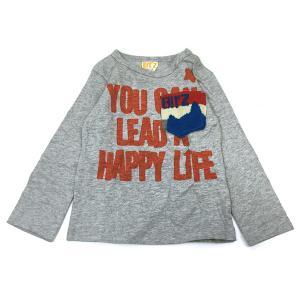 70%OFF セール 【返品・交換不可】 BIT'Z ビッツ 子供服 ジャガードポケット長袖Tシャツ|billy-k