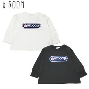 50%OFF セール 【返品・交換不可】 b-ROOM ビールーム 子供服 20秋冬  【OUTDOOR PRODUCTS】 天竺ナガソデTシャツ|billy-k