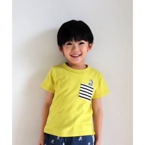 Si・Shu・Non シシュノン 子供服 21春夏 ドラポケTシャツ|billy-k