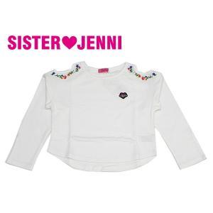 JENNI ジェニィ ジェニー 子供服 18春 ミニ裏毛デザイントレーナー|billy-k