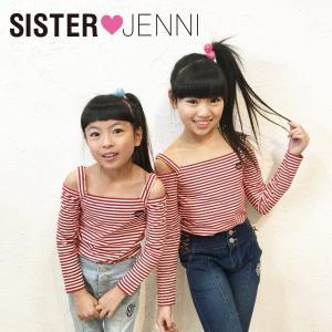 JENNI ジェニィ ジェニー 子供服 18春 ベア天竺デザインTシャツ|billy-k