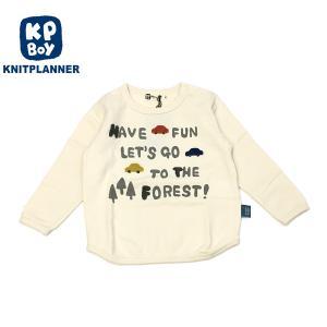 KP BOY ケーピーボーイ 20秋冬 くるまモチーフ長袖Tシャツ 80cm 90cm|billy-k