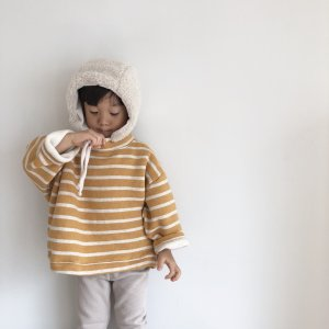 [10%off] stripe wide sweatshirt (kz191020)|billy-k