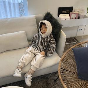 stripe hoodie set up (kz191033)|billy-k