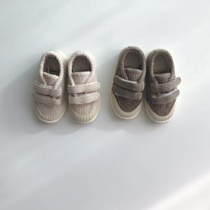 corduroy velcro shoes (kz191126)|billy-k