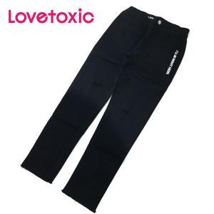 Lovetoxic ラブトキシック 子供服 カットオフダメージスキニーパンツ|billy-k