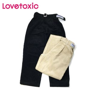 セール 【返品・交換不可】 Lovetoxic ラブトキシック 子供服 ベルトつきコーデュロイロングパンツ|billy-k