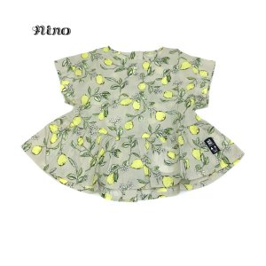 nino ニノ 子供服 21春夏 レモンPTブラウス 100cm〜120cm|billy-k