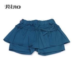 nino ニノ 子供服 21春夏 Tシャツ ギャザーペプラムショートパンツ 90cm〜120cm|billy-k