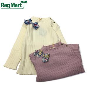 RAG MART ラグマート 子供服 21春 テレコハイネックTシャツ|billy-k