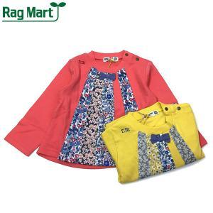 RAG MART ラグマート 子供服 21春 接結パッチワークトレーナー|billy-k