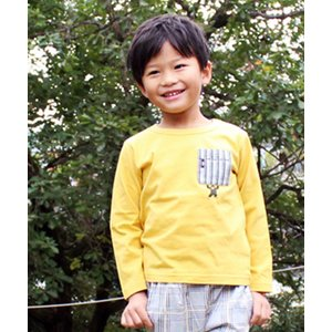 30%OFF セール 【返品・交換不可】 SKAPE エスケープ 子供服 21春 ゴリラロンT|billy-k