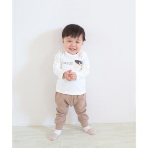 30%OFF セール 【返品・交換不可】 Si・Shu・Non シシュノン 子供服 21春 ロンTクマパンツセット|billy-k