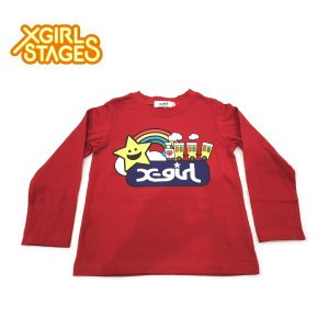 4353afeea4088 50%OFF セール  返品・交換不可  X-girl Stages エックスガール ...