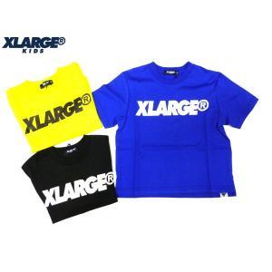 bc390f576805c 40%OFF セール  返品・交換不可  XLARGE KIDS エクストララージ キッズ 18夏 ロゴワイドTシャツ