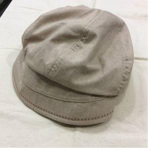 - ベージュポリエステル帽子 size56?59cm対応 bimota