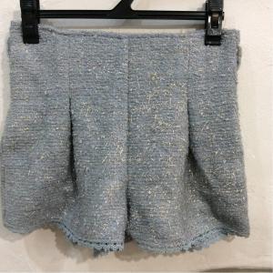 LIZLISA LIZ LISA 水色×裾かぎ針編みレースショートパンツ サイズ0 bimota