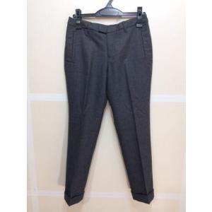 - パンツ 裾折り返し ウール98%ポリウレタン2%素材 グレー色 サイズ64 bimota