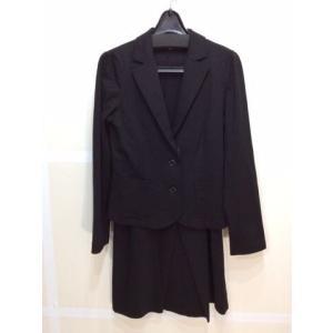 4C 4℃ ストレッチスーツ 黒色 サイズジャケット38スカート36 bimota