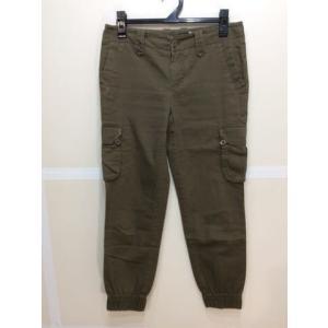 GAP ギャップ ジョガーパンツ ポケットがポイント カーキ色 全体的にも擦れあって使用感ありサイズ0 bimota