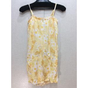 GAP キッズ、黄色の花柄 オールインワン ショート丈 bimota
