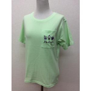 Lovetoxic ラブトキシック ミントグリーンのTシャツ サイズL(160)|bimota