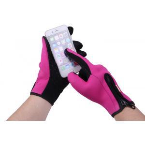 スマホ対応 手袋 メンズ  レディース 防寒 防風 グローブ スマートフォン タッチパネル 自転車|binetto|03