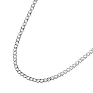チェーン幅1mm、極細幅のシルバー製喜平チェーンです。小さめサイズのペンダントを着ける時にチェーンの...