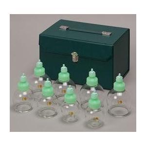 カッピングカップ (ガラスタイプ): RP4号:2個(内径約40mm) RP5号:2個(内径約50m...