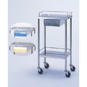無料健康相談 対象製品 器械台 SK-3234C(クリアー引出し付)    biomedicalnet