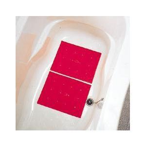 浴槽内での足やお尻のすべりを防ぐマット。 432個(1枚あたり)の吸盤で強力吸着。 コンパクトタイプ...