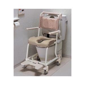トイレ・シャワー兼用。(水中に沈めて使用することはできません。) 車いすに座ったままウォシュレットが...