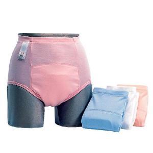 ●パットは不要で下着感覚ではける吸収量100ccの安心パンツ100です。 ●吸収体には、保水性・拡散...