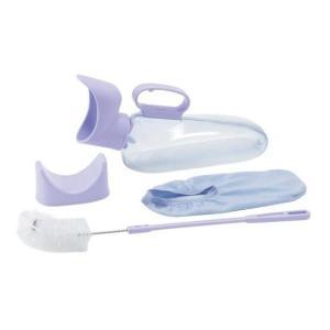 ・フィットする受尿口と逆止弁でこぼれを防止。 ・女性でも自分で使えるスライドグリップ付。