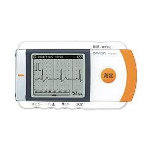 【無料健康相談 対象製品】オムロン 携帯型心電計 HCG-801 印刷用ソフトセット   【smtb-s】【特定管理】 【fsp2124-6m】|biomedicalnet